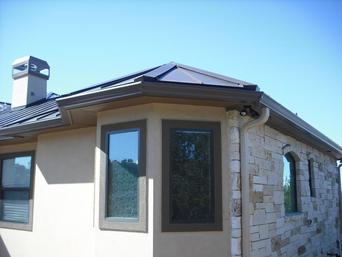 Skyline Roofing & Siding - Services - Gutters/Downspouts